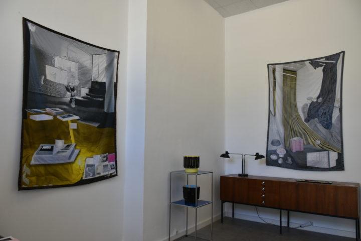 Hit Machine Galerie Kissthedesign Lausanne CECILE KRAHENBUHL, ANNE MINAZIO, JESSY RAZAFIMANDIMBY, JESSICA RUSS HIT Anne Minazio