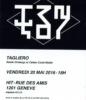 flyer: Basile Dingbergs & Célian Cordt-Moller TaglieroHIT Anne Minazio