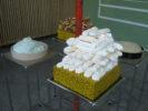 meringues, houmous, crème fouettée, flûtes: Quentin Lannes & Anne Minazio Glyph & Lux (Façade printemps/été)HIT Anne Minazio