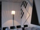 Lampe Shogun: Mario Botta Repas N°3 Hommage à CarêmeHIT Anne Minazio