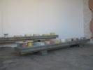 display:Frédéric Gros-Gaudenier Monochromes & Wallpainting N°11  &  Céramiques N°1-6  &  FaçadeHIT Anne Minazio