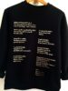 Sweatshirt: Anne Minazio Bibliothèque N°4HIT Anne Minazio
