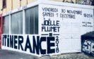 Wall Flyer, Hugo Baud Itinérance, 2018HIT Anne Minazio