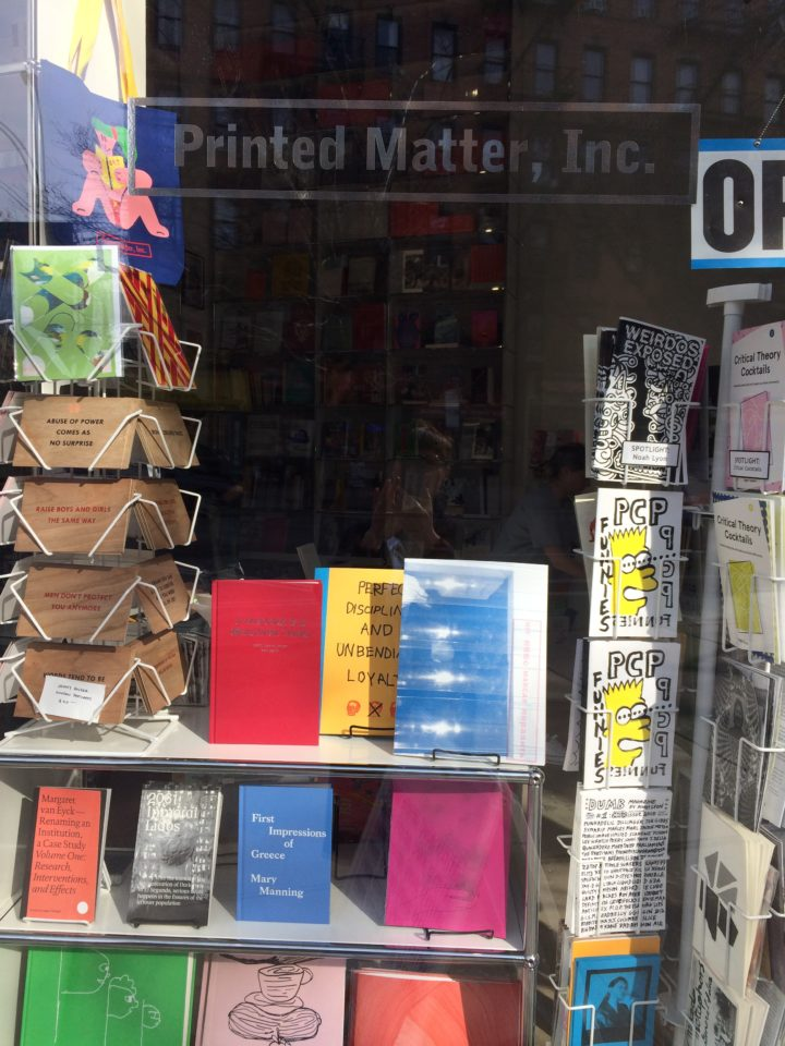 Book Launch Journal Hit 2018 Printed Matter St Marks / New York HIT Anne Minazio