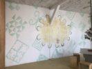 Journal Hit 2020 & wallpainting & installation sonoreHIT Anne Minazio